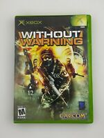 Without Warning - Original Xbox Game - Complete & Tested
