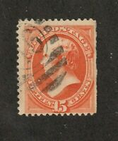 United States stamp #152, used, 1870-71, SCV $210