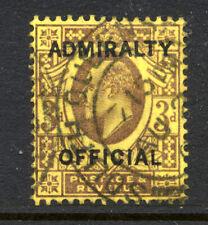 GB Edward VII 3d 'ADMIRALTY OFFICIAL' Overprint SG 0106 Cat £150