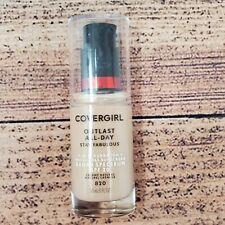 Covergirl Outlast All Day Liquid Makeup 820 Creamy Natural Sunscreen SPF 20 1 Oz
