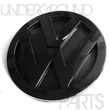 GLOSS BLACK REAR BOOT TAILGATE HATCH TRUNK BADGE EMBLEM VW VOLKSWAGEN JETTA MK5