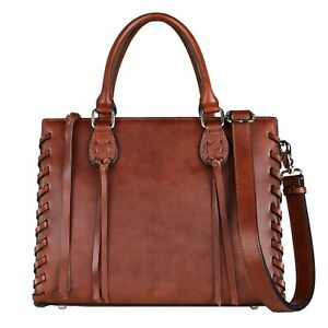Concealed Carry Purse, Emma Leather Gun Holster Satchel CCW Bag by Lady Conceal