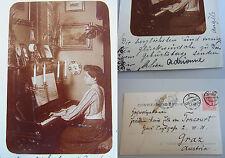 Privatfoto GALATZ 1905, gelaufen als AK // Töchter von GUIDO VON TONCOURT!