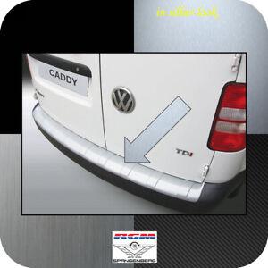 Exklusiv RGM Ladekantenschutz Silber-Look gerippt VW Caddy auch Maxi 2K 2004-15