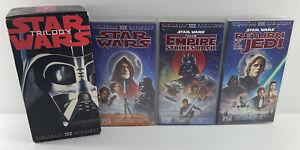 STAR WARS TRILOGY 1995 Release VHS Videos