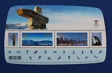 CANADA (#2366) 2010 Venues of the Olympic Games MNH souvenir sheet