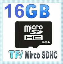 16G 16GB MicroSD Micro SD TF Memory Card FREE ADAPTER + CASE 16Go