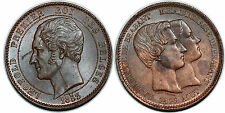 Belgique Léopold Ier, médaille au module de 10 centimes, 1853