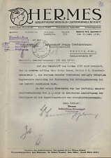 BERLIN W 8, Brief 1938, HERMES Krediversicherungs-A.-G.