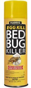 Harris Bed Bug Spray, Bed Bug Killer Aerosol 16 Oz Kills Eggs