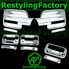 09-14 Ford F150 Chrome Mirror+2 Door Handle+KYP+PSG K.H+Tailgate Camera Cover