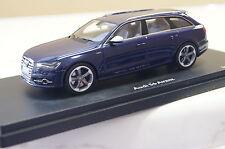 Audi S6 Avant blau 1:43 Schuco PRO-R neu & OVP