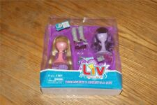 Liv Doll Accessory Hairstyle Set Purple Blond Wigs NEW