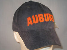 AUBURN TIGERS - NEW SPORTS HAT -  NCAA LICENCED - NAVY UNSTRUCTURED