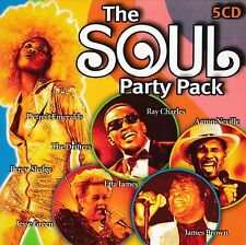 THE SOUL PARTY PACK. 5  DISC SET. NEW ITEM