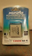 NEW Canon NB-4L DIGIPOWER Rechargeable Battery