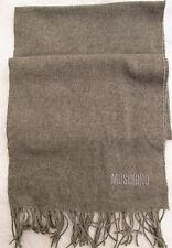 -Superbe   Echarpe  MOSCHINO 100% laine merino TBEG  vintage scarf