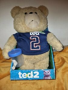 Ted 2 Talking Teddy Bear 16 Inch Plush with Sample Jar Explicit Phrases - boxed