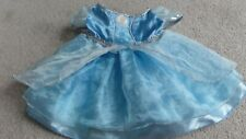 BUILD-A-BEAR CINDERELLA DRESS OUTFIT COSTUME