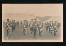 Military Band OTC TIDWORTH c1900/10s? RP PPC