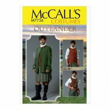McCalls Sewing Pattern 7736 Costumes MQQ (46-48-50-52)