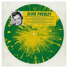 Elvis Presley Coloured Vinyl 33RPM Speed Rock LP Records