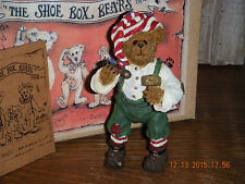 Boyds Bears Shoe Box Bear 2003 ~1E Alvin Elfbeary~ Elf
