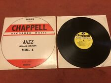 Chappell  LIBRARY JAZZ (small group ) VOL .1 LP JOHN BARRY ROGER ROGER INDEX N/M