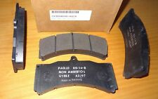 New Pagid RS14 Black Race Brake Pads, CP3894D46-RS14 18mm E1852 U1852 RS-14-B