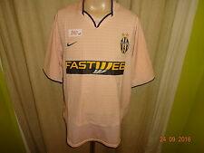 "JUVENTUS TORINO ORIGINALE NIKE Trasferta Maglia 2003/04 ""Fastweb"" taglia XL TOP"