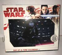 STAR WARS - 2019 DAILY DESK CALENDAR - BRAND NEW - MOVIE 890017