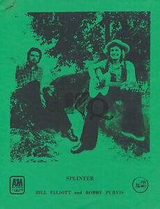 Splinter - 1975 [USA] - Press Kit [The Beatles / George Harrison]
