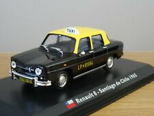 ALTAYA IXO LEO RENAULT 8 TAXI SANTIAGO DE CHILE 1965 CAR MODEL MJ32 1:43