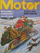 Motor magazine 27/12/1980 featuring BMW 628CSi road test, March BMW 782