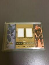 2001-02 01-02 UD UPPER DECK NHL TIMELESS TRIBUTES GUY LAFLEUR AS JERSEY TT-GY