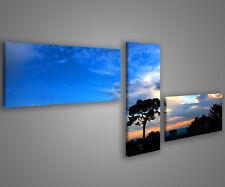 Quadri moderni astratti 180 x 70 stampe su tela canvas con telaio MIX-S_163