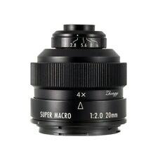 Mitakon Creator 20mm f/2 Super Macro Canon EF  6D Mark II 80D full frame zhongyi