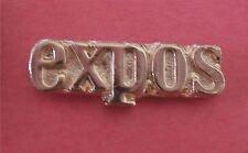 Montreal Expos Logo MLB Gold Baseball Lapel Pin
