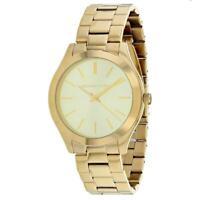 Michael Kors MK8671 Slim Runway 42MM Men's Gold-Tone Stainless Steel Watch