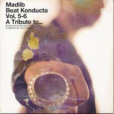 Madlib Beat Konducta Vol. 5-6 A Tribute to...RARE promo advance CD '08