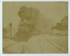 More details for new york new haven & hartford railroad train at crossing c1900s photo