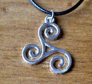 Teen Wolf Triskele Pendant Necklace