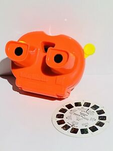 View-Master Lighted 3D Vintage Tyco 1991 w/ Mickey Mouse Reel ViewMaster TESTED