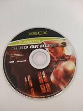 Dead or Alive 3 XBOX Original Classics Jeu * Disque Seulement *