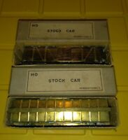 Ho Brass Stock Car International's New Vintage Old Stock Lot of 2 Japan