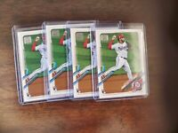 2021 Topps Series 1 Baseball 298 LUIS GARCIA Base RC Rookie Nationals Lot of (4)
