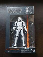 "Star Wars The Black Series Stormtrooper #09 Orange Line New Sealed 6"""