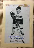 "*SIGNED NORM ULLMAN* 1944-63 Beehive🐝 Group II Photo *INSCRIBED ""HOF-1982""*"