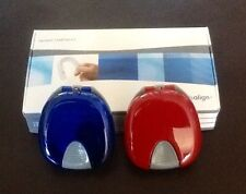 Invisalign Retainer Case Set Red and Blue/ AUTHENTIC