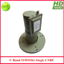 Digital Ready LNB C band Single output Dual Polarity  with L.O Frequency 5150MHZ